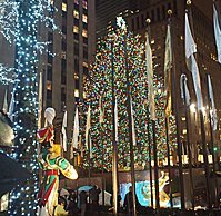 Rockefeller Center Christmas Tree Lighting 2017