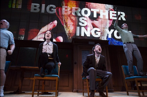 George Orwell's 1984 lands on Broadway, 2017