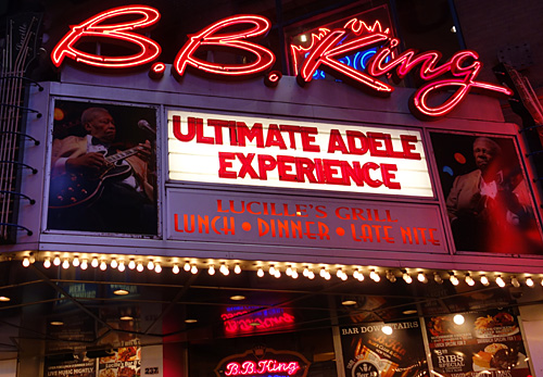 B.B. King's Blues Club is closing after 18 years, Times Square, NYC