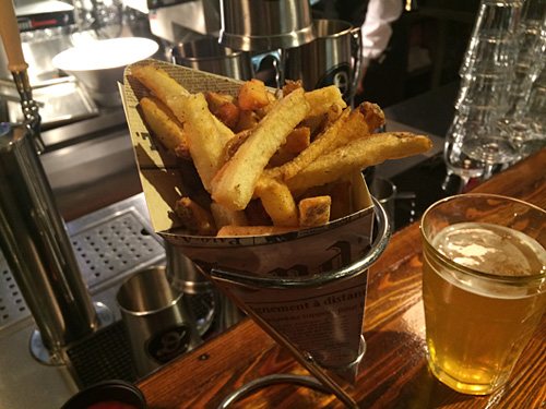 Bar a frites, Le District, Brookfield Place, NYC