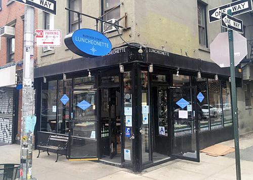 Bleecker Street Luncheonette, West Village, NYC