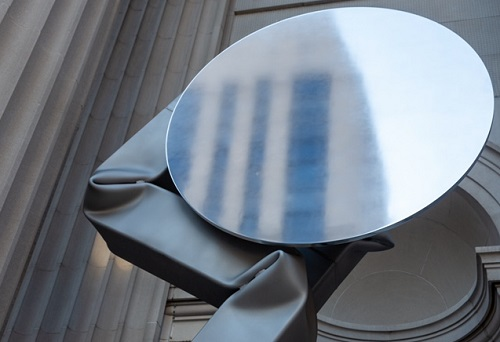The Met unveils its new facade: Carol Bove: The séances aren't helping