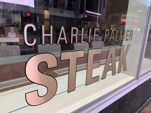 Charlie Palmer Steak replaces Aureole in Times Square