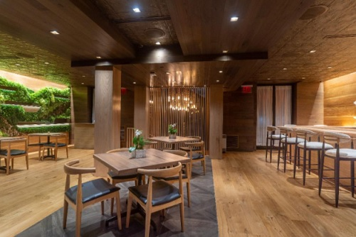 The Chemistry Room at Sushi Lab Opens at Hotel Sanctuary