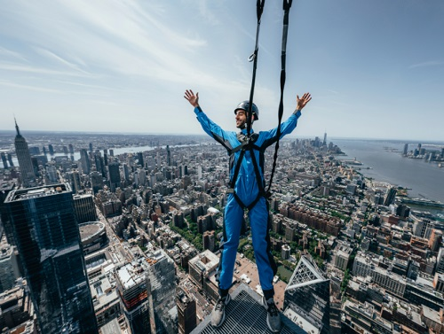 Sky's the Limit at City CLimb<br>at Hudson Yards' The Edge