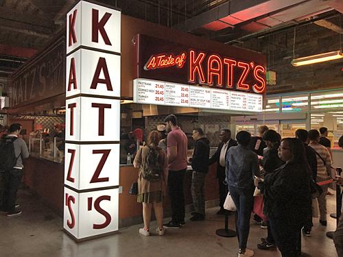 Katz's Deli at Dekalb Market Hall, Brooklyn, NYC