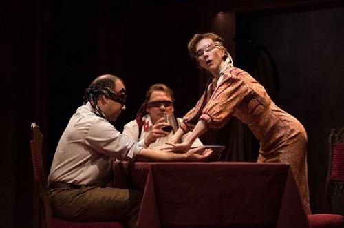 Describe the Night, Atlantic Theatre, Off-Broadway
