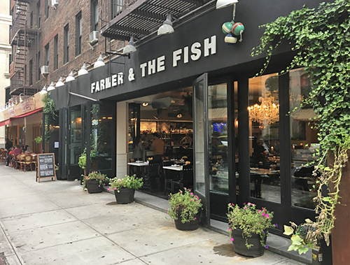 Farmer and the Fish, Gramercy, NYC