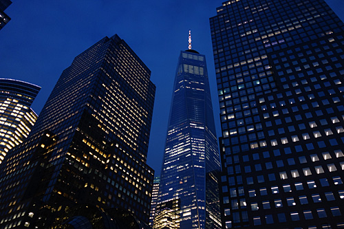 Freedom Tower at Dusk, NYC, 2018