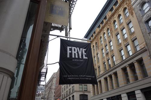 Frye, The Frye Company, Soho, NYC