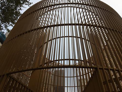 Ai Weiwei's ''Good Fences Make Good Neighbors''