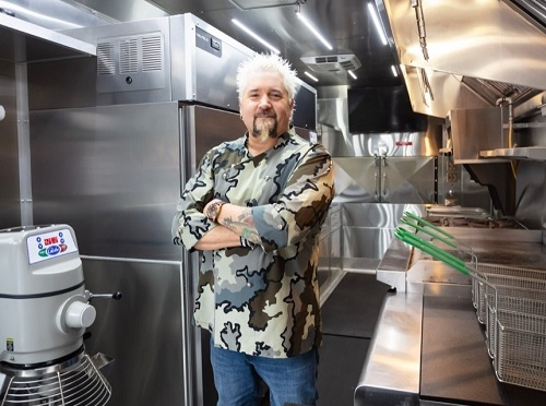 Guy Fieri's Flavortown ''Ghost Kitchen'' Arrives in Times Square