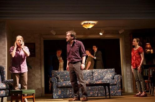 Review: If I Forget, Off-Broadway, Starring Larry Bryggman, Maria Dizzia, Tasha Lawrence, Jeremy Shamos, Seth Steinberg, Kate Walsh, Gary Wilmes