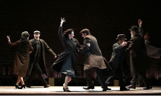 Indecent, Broadway, starring Katrina Lenk, Mimi Lieber, Max Gordon Moore, Tom Nelis, Steven Rattazzi, Richard Topol, Adina Verson