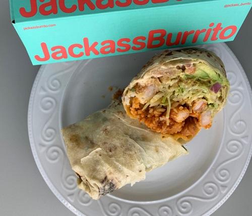 Jackass Burrito pops up inside El Vez at Battery Park