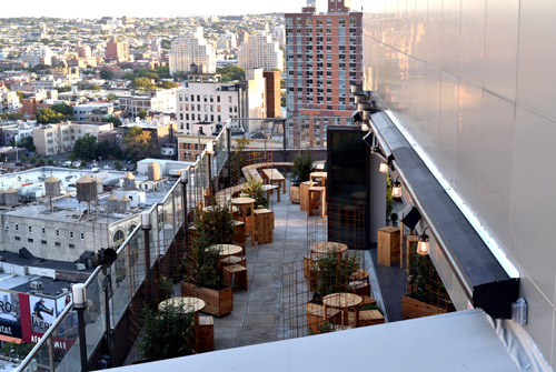 Kimoto, Rooftop Bar, NYC