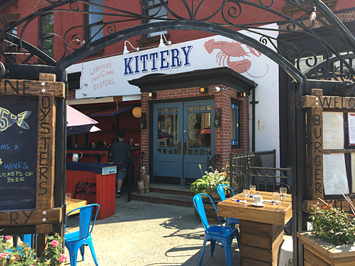 Kittery, Seafood Restaurant, Carroll Gardens, Brooklyn, NYC, exterior