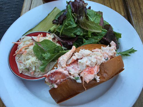 Kittery, Seafood Restaurant, Carroll Gardens, Brooklyn, NYC, Lobster Roll