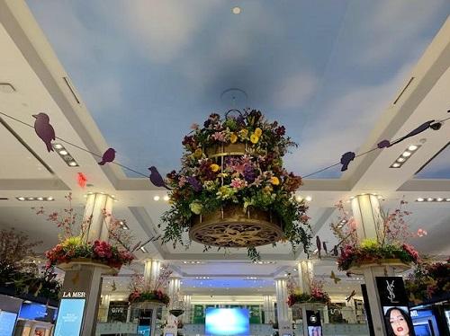 Macy's Flower Show, NYC, 2021, Aviary