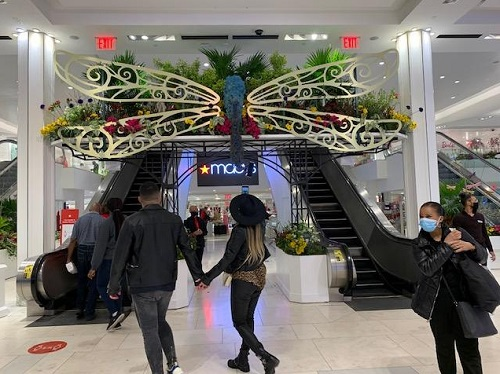 The Macy's Flower Show, NYC, 2021, Dragonfly