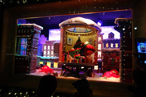Christmas Holiday Windows at Macy's Herald Square