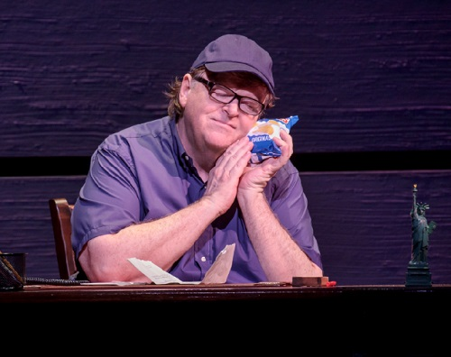 Michael Moore, The Terms on My Surrender, Broadway, 2017