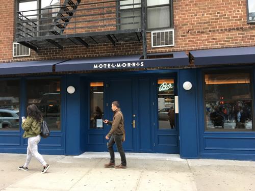 Motel Morris, Restaurant and Bar, Chelsea, NYC
