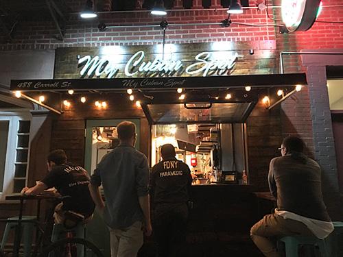 My Cuban Spot, Gowanus, Brooklyn