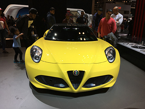 New York International Auto Show, 2017, NYC Alfa Romeo
