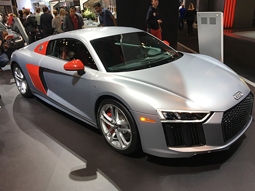 2017 New York International Auto Show, NYC Audi V10