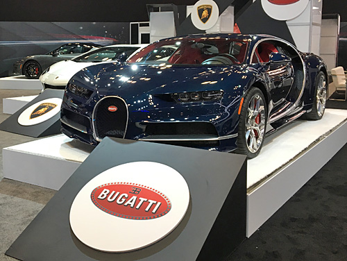 New York International Auto Show, 2017, NYC Bugatti Chiron