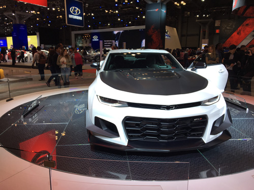 New York International Auto Show, 2017, NYC Chevy Camaro