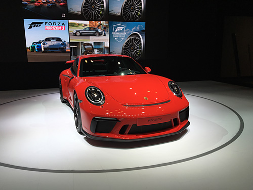 New York International Auto Show, 2017, NYC Porsche GT3