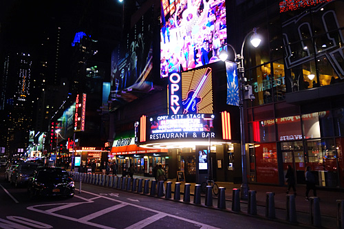 Opry City Stage, Times Square, NYC