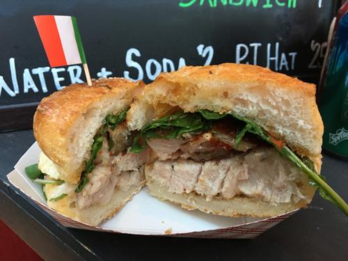 Pasquale Jones, Porketta Sandwich, Little Italy, NYC