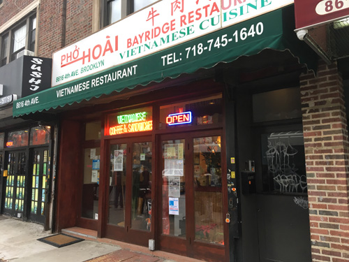 Pho Hoai, Vietnamese, Bay Ridge, Brooklyn, NYC