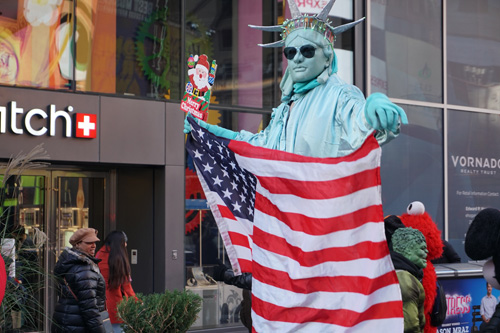 lady Liberty Times Square 2017