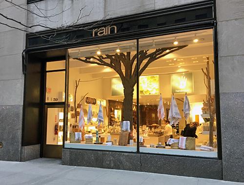 Rain Africa, Bath & Body, Rockefeller Center, NYC