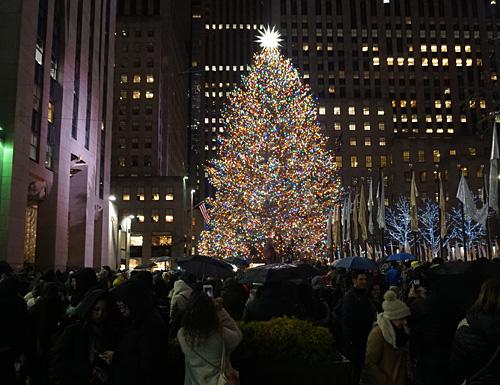 Christmas Tree In Nyc.2019 Rockefeller Center Christmas Tree New York City Nyc