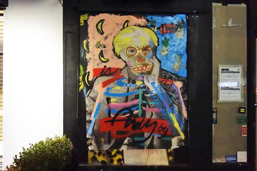 SoHo Graffiti, Andy Warhol, NYC 2018