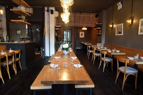 Soogil, Modern Korean restaurant, East Village, NYC
