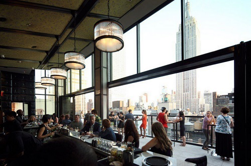 Spyglass Rooftop Bar at the Archer Hotel, NYC
