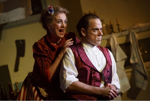 Review, Sweeney Todd, Off Broadway, NYC 2017