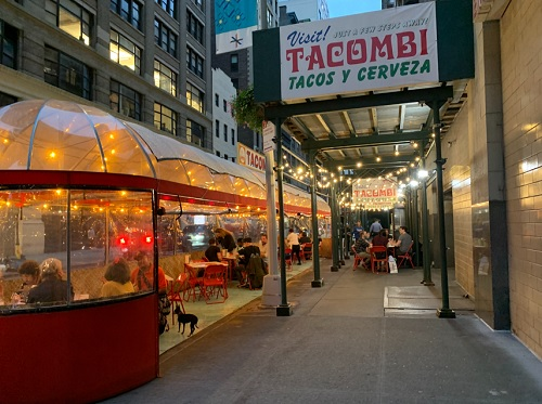 3 Places To Try If You Can Snag A Table - Tacombi Flatiron