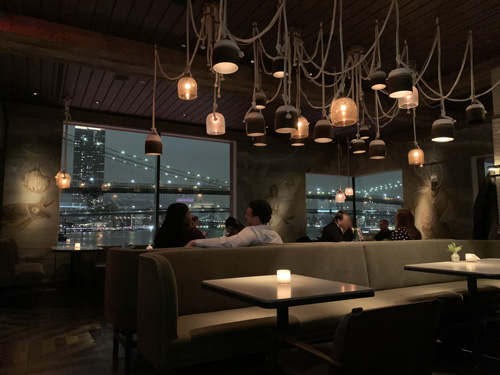 The Fulton, Jean-Georges, Pier 17, NYC