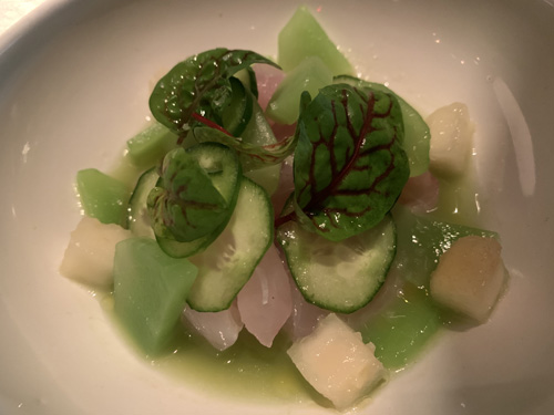 The Fulton, Jean-Georges, Pier 17, NYC, Ceviche