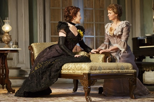 The Little Foxes, Broadway, starring Laura Linney, Cynthia Nixon and company