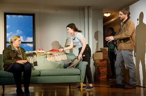 Lindsay Ferrentino's This Flat Earth, Off Broadway, NYC, 2018
