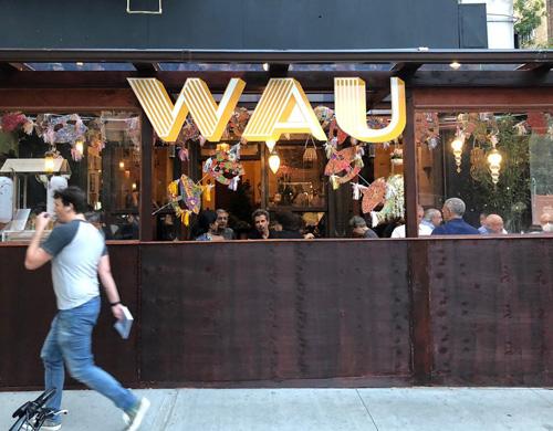 Wau arrives on the UWS