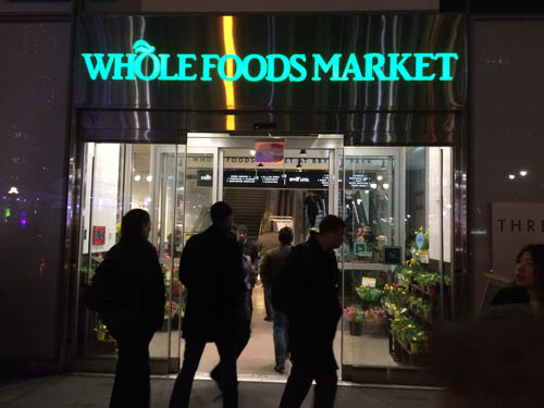Whole Foods Bryant Park NYC